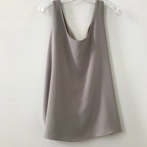 🎬✨Oscar De La Renta Sleeveless Tan / Grey Colour
